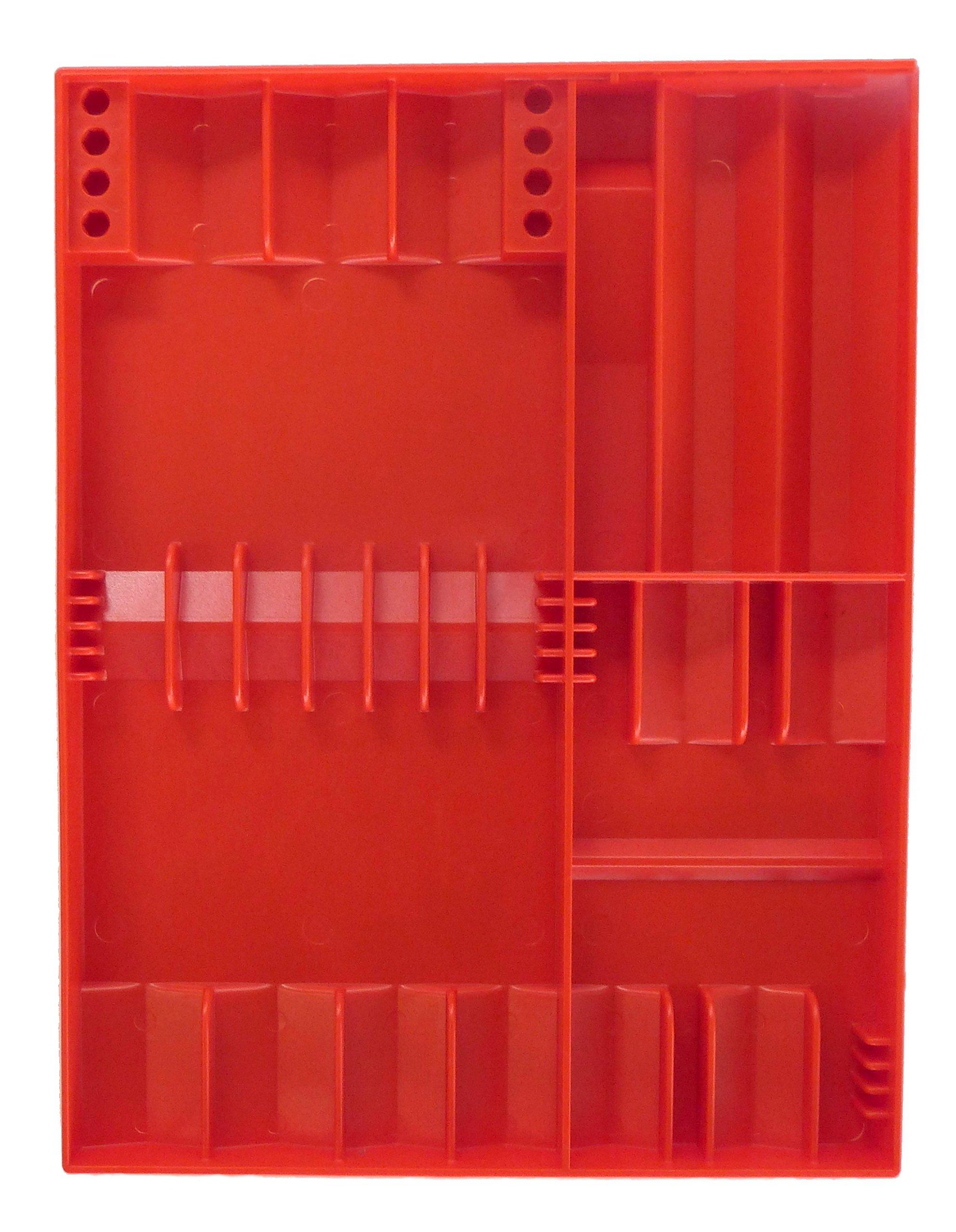 Tool Sorter Screwdriver Organizer - Red