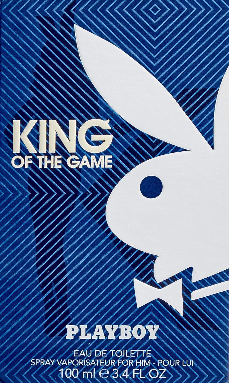 Playboy King Of The Game Edt Vapo 100 Ml 1 Unidad 100 ml: Amazon ...