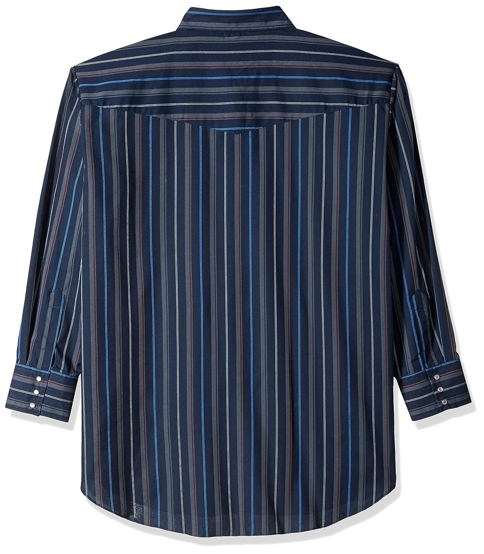 Ely /& Walker Mens Long Sleeve Stripe Western Shirt-Big