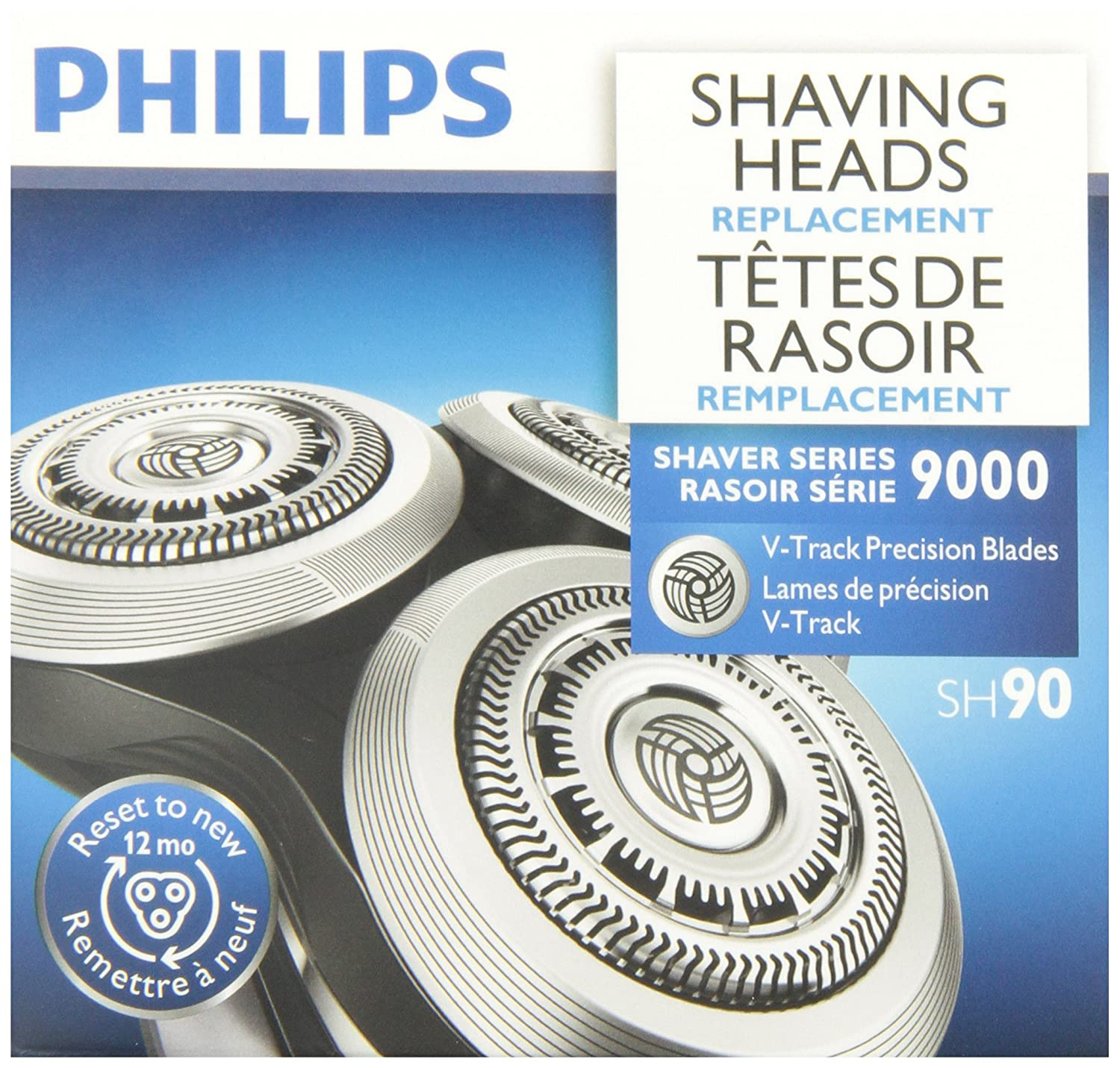 Philips Replacement Shaver Blades for Shaver Series 9000, SH90/53 Philips Canada