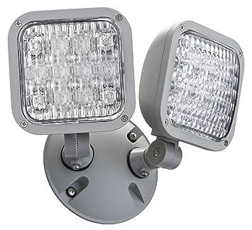 amazon com lithonia lighting ela led t wp m12 led emergency remote