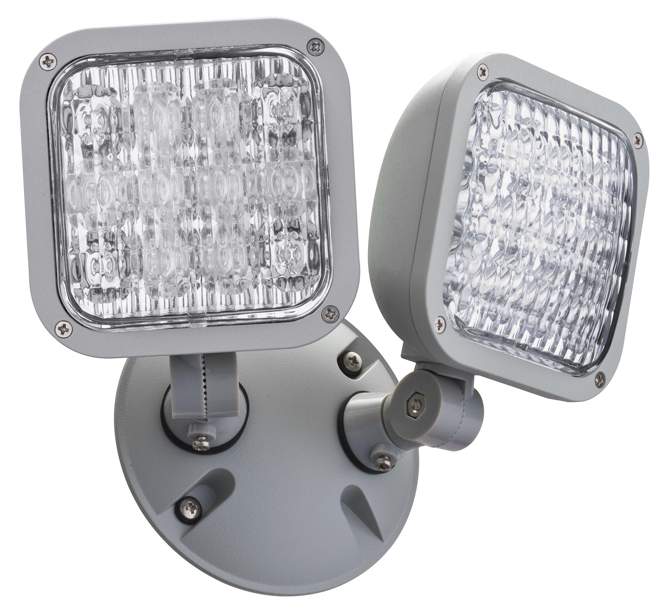 Lithonia Lighting ELA LED T WP M12 LED Emergency Remote Double, weather-proof remote Lamp Head