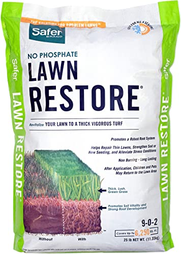 Safer Brand 9334 Lawn Restore Fertilizer