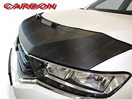 Amazon com: AB3-00256 Carbon Fiber Look Hood Bra fit Audi Q2