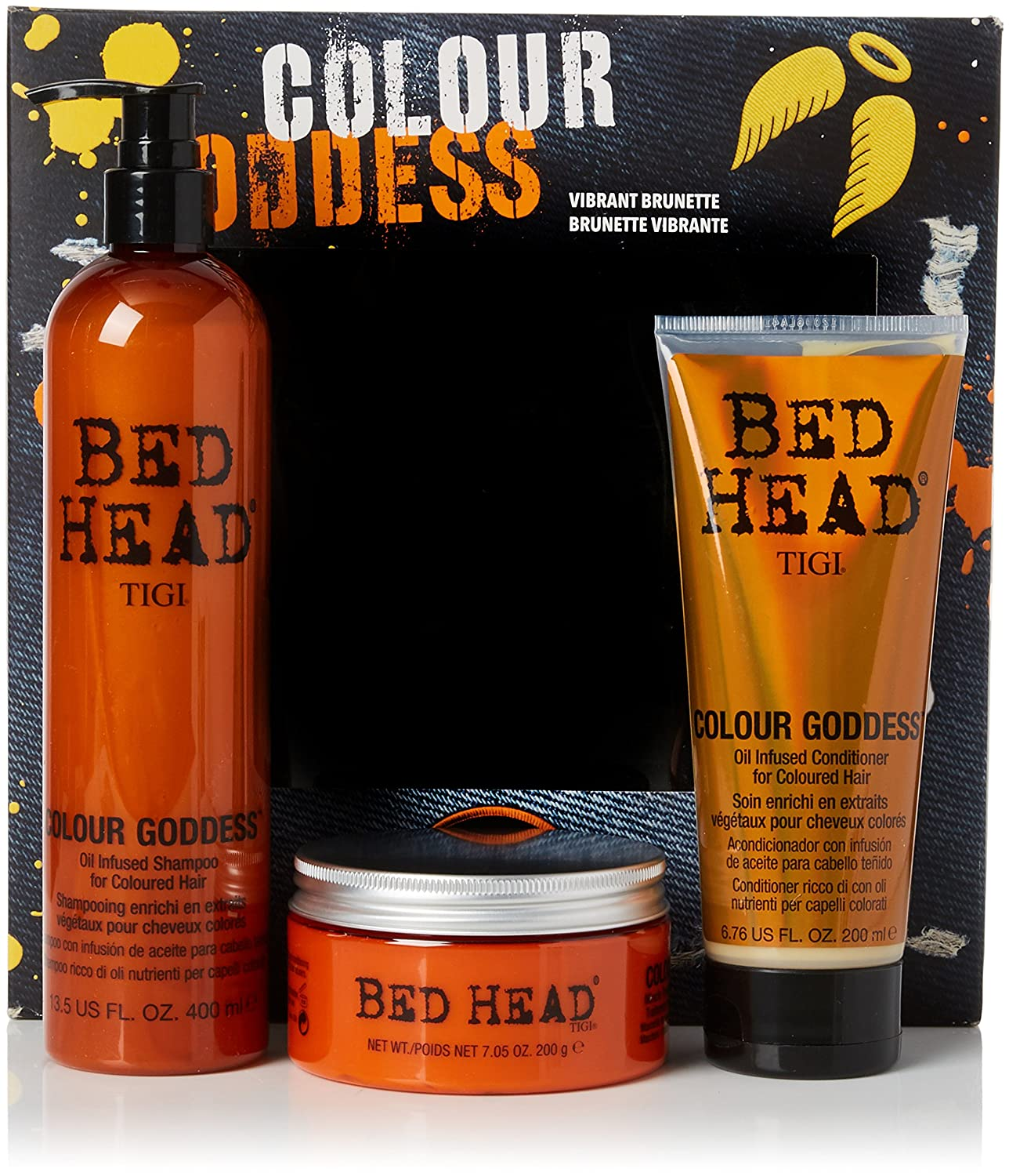 TIGI Bed Head Colour Goddess Oil Infused Miracle Mask, 200 g 140479 TIG00073_-200 gr