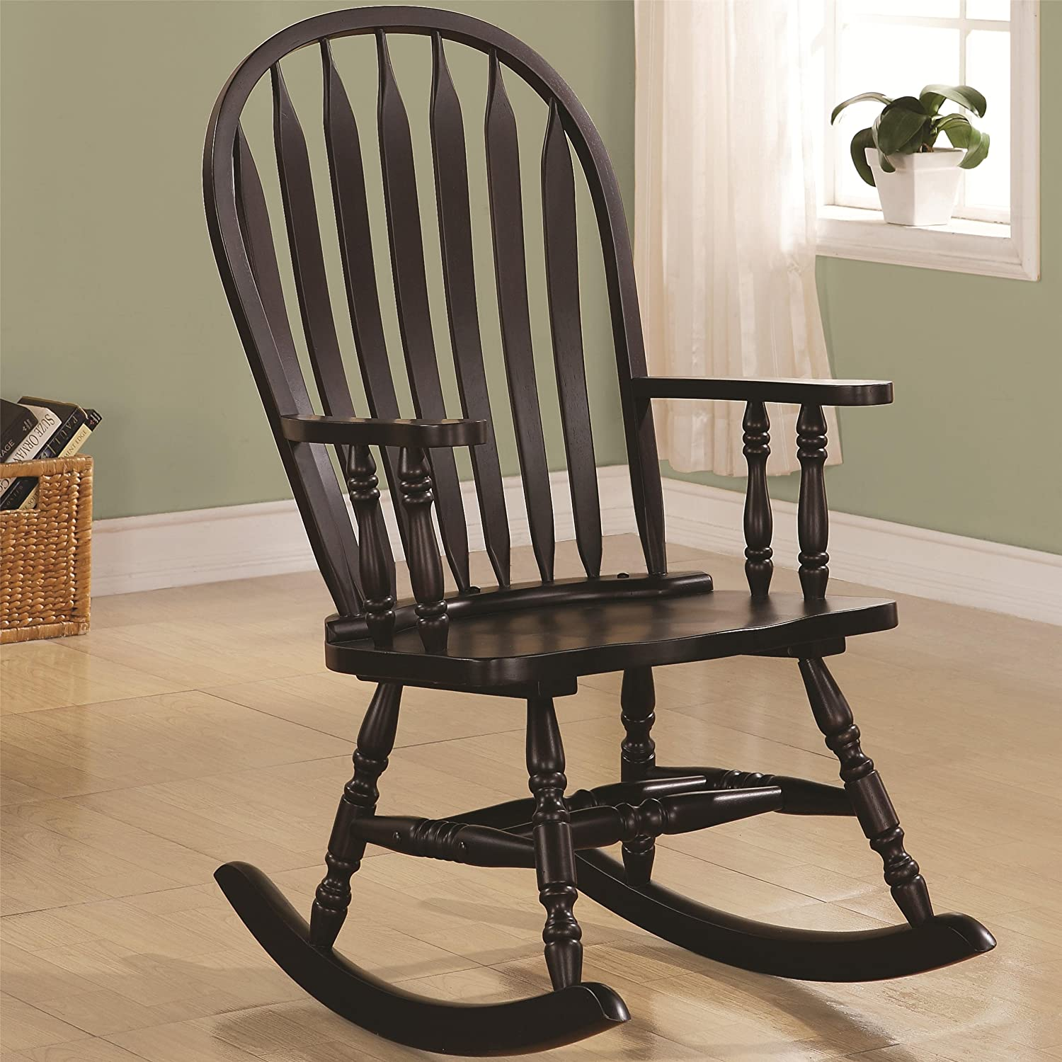 Amazon CAPPUCCINO ARROW WINDSOR BACK ROCKING CHAIR Kitchen