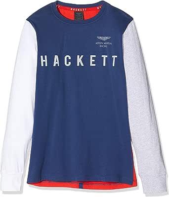 Hackett London Amr Mult T LS Camiseta para Niños