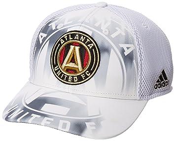 5025ba00aca79d MLS Atlanta United FC Adult Men MLS SP17 Fan Wear White Out Structured  Adjustable Cap,