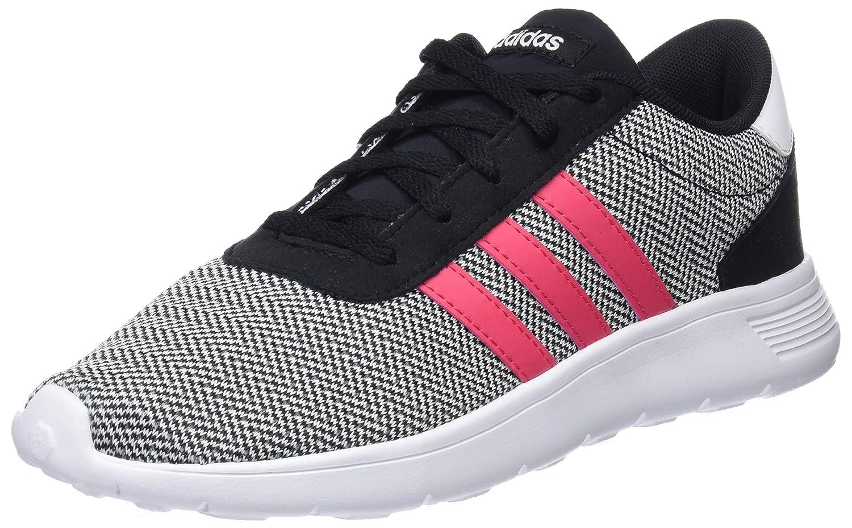 adidas Unisex-Erwachsene Lite Racer Sneaker  38 2/3 EU|Schwarz (Negbas / Rosrea / Ftwbla 000)