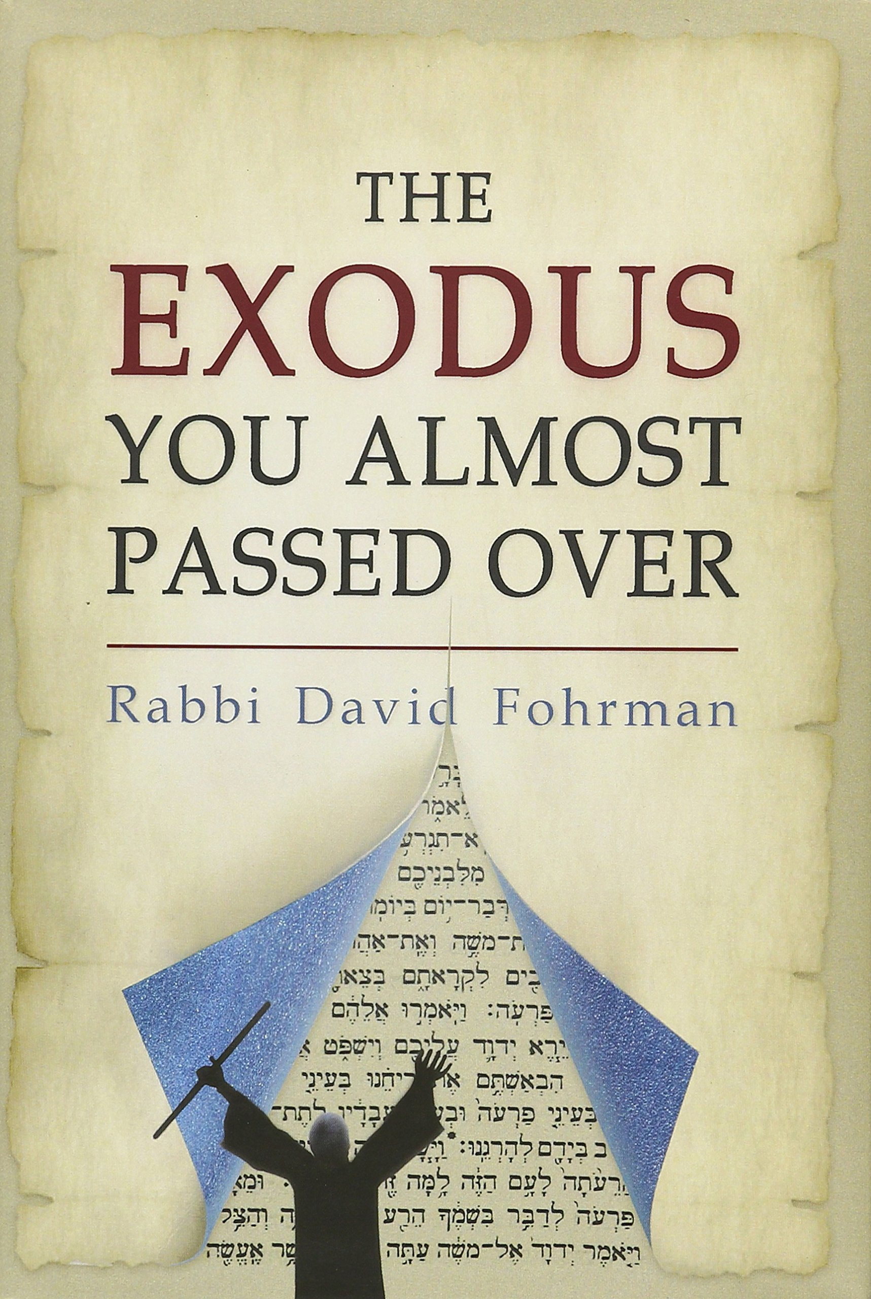 The Exodus You Almost Passed Over: Rabbi David Fohrman: 9780997347609:  Amazon.com: Books
