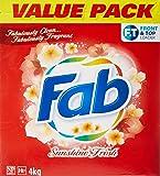 Fab Laundry Powder, Sunshine Fresh, 4000g