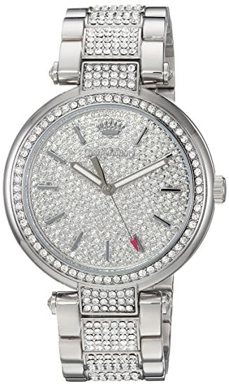 8fe5a63a1e13 Buy Juicy Couture Women s  Sienna  Quartz Stainless Steel Dress Watch