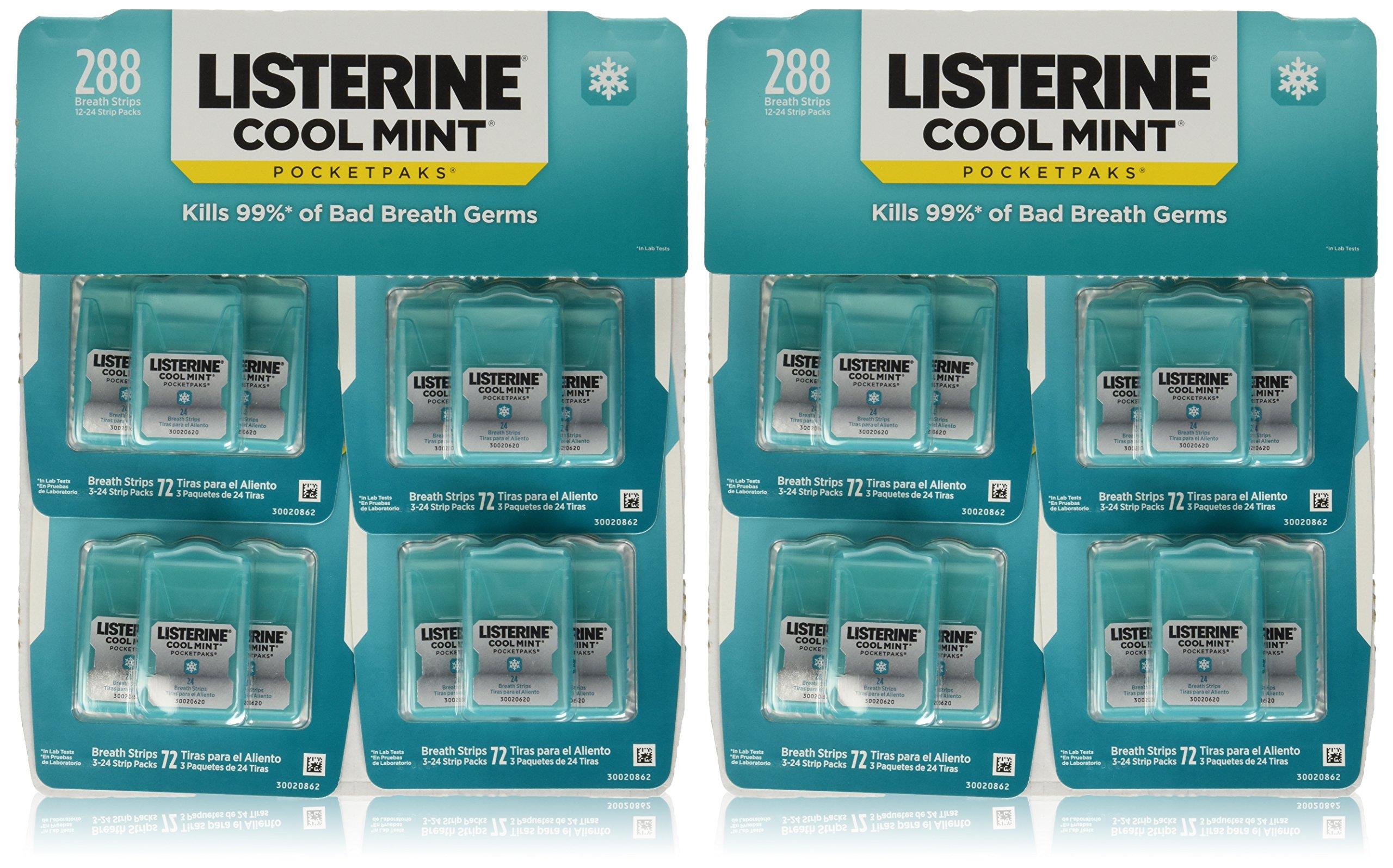 Listerine Pocketpacks 576 Breath Strips