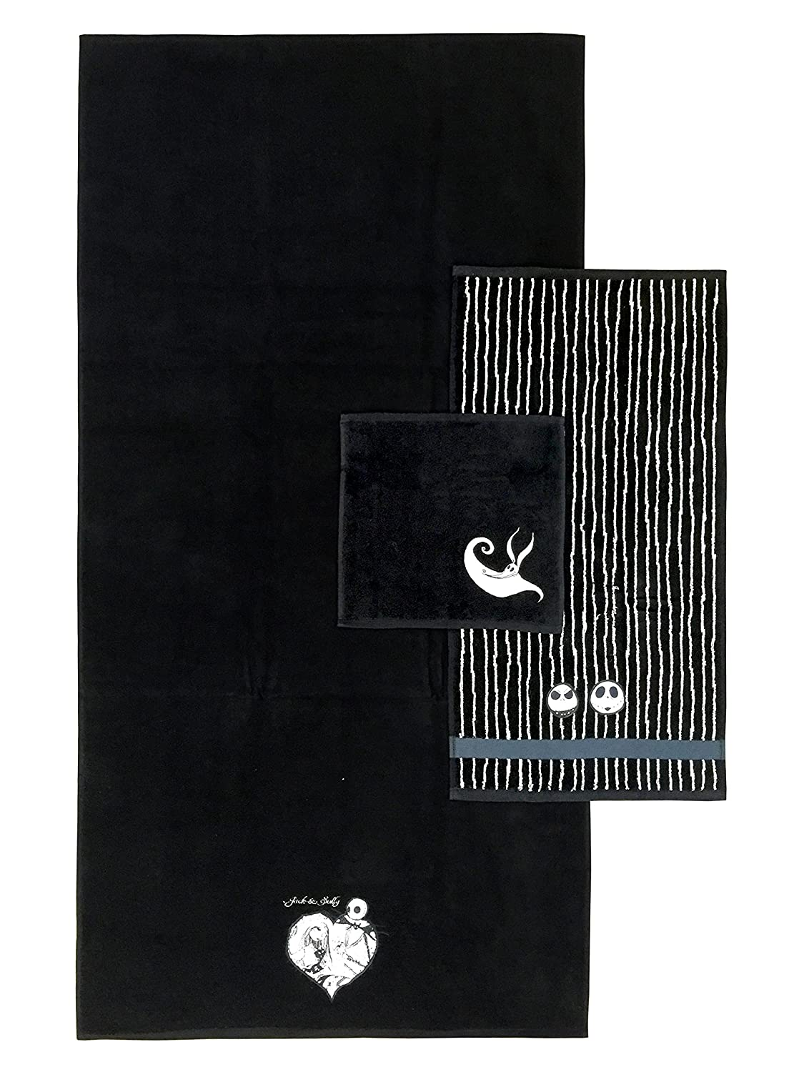 Disney Nightmare Before Christmas Meant To Be 3-Piece Cotton Towel Set Jay Franco & Sons JF31417