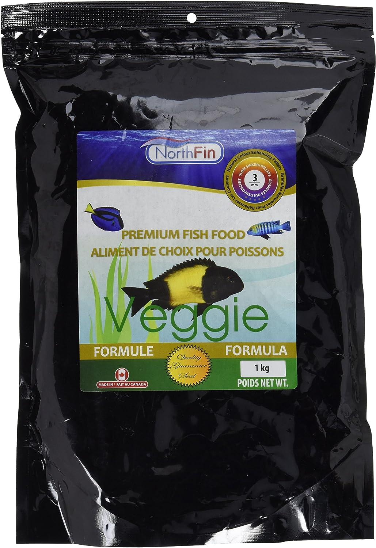 Northfin Food Veggie Formula 3Mm Pellet 1Kg Package