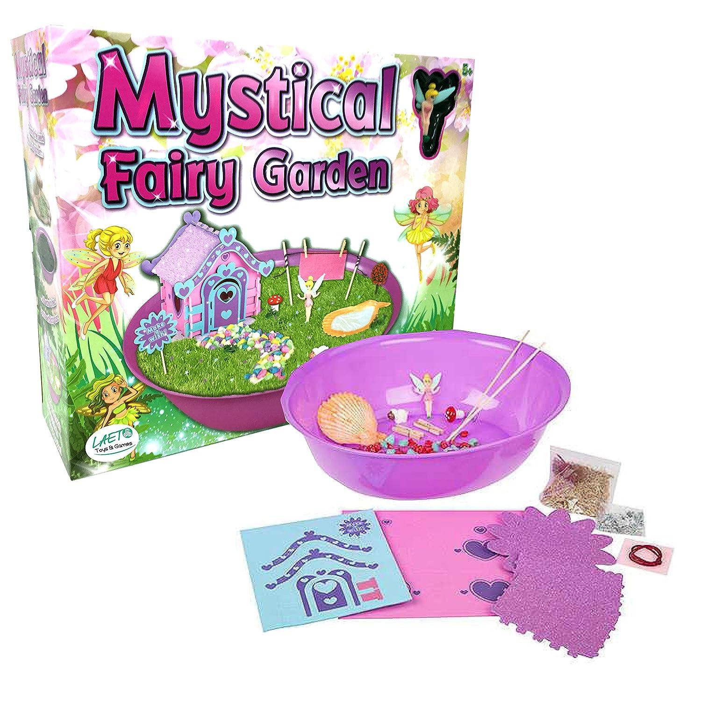 【オンライン限定商品】 Laetoの玩具やゲームによる神秘的で輝く妖精の庭セット女の子のための理想的な芸術や工芸品や科学 B07B665N4N, 豊岡市:cd57ea49 --- vezam.lt