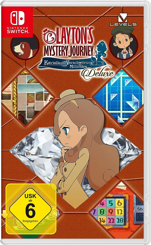 Layton`s Mystery Journey: Katrielle und die Verschwörung der ...