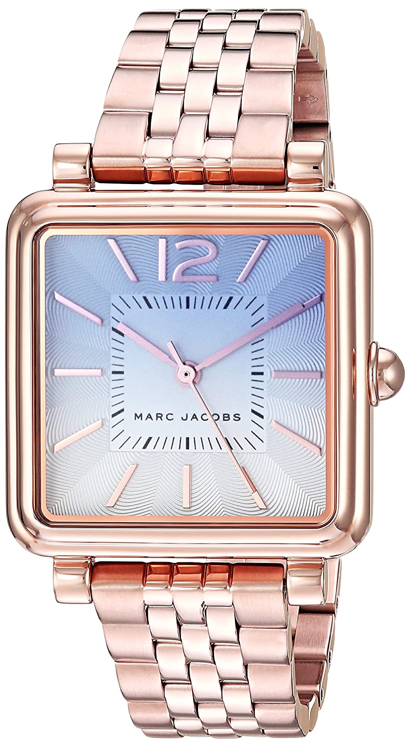 f535b84aa6158 Amazon.com: Marc Jacobs Women's Vic Japanese-Quartz Watch with  Stainless-Steel Strap, Rose Gold, 16 (Model: MJ3556: Marc Jacobs: Watches