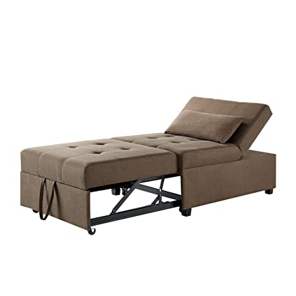 Powell Furniture Boone Sofa Bed Brown
