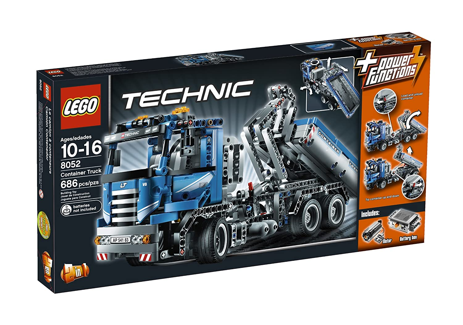 Amazon Lego Technic Container Truck 8052 Toys Games