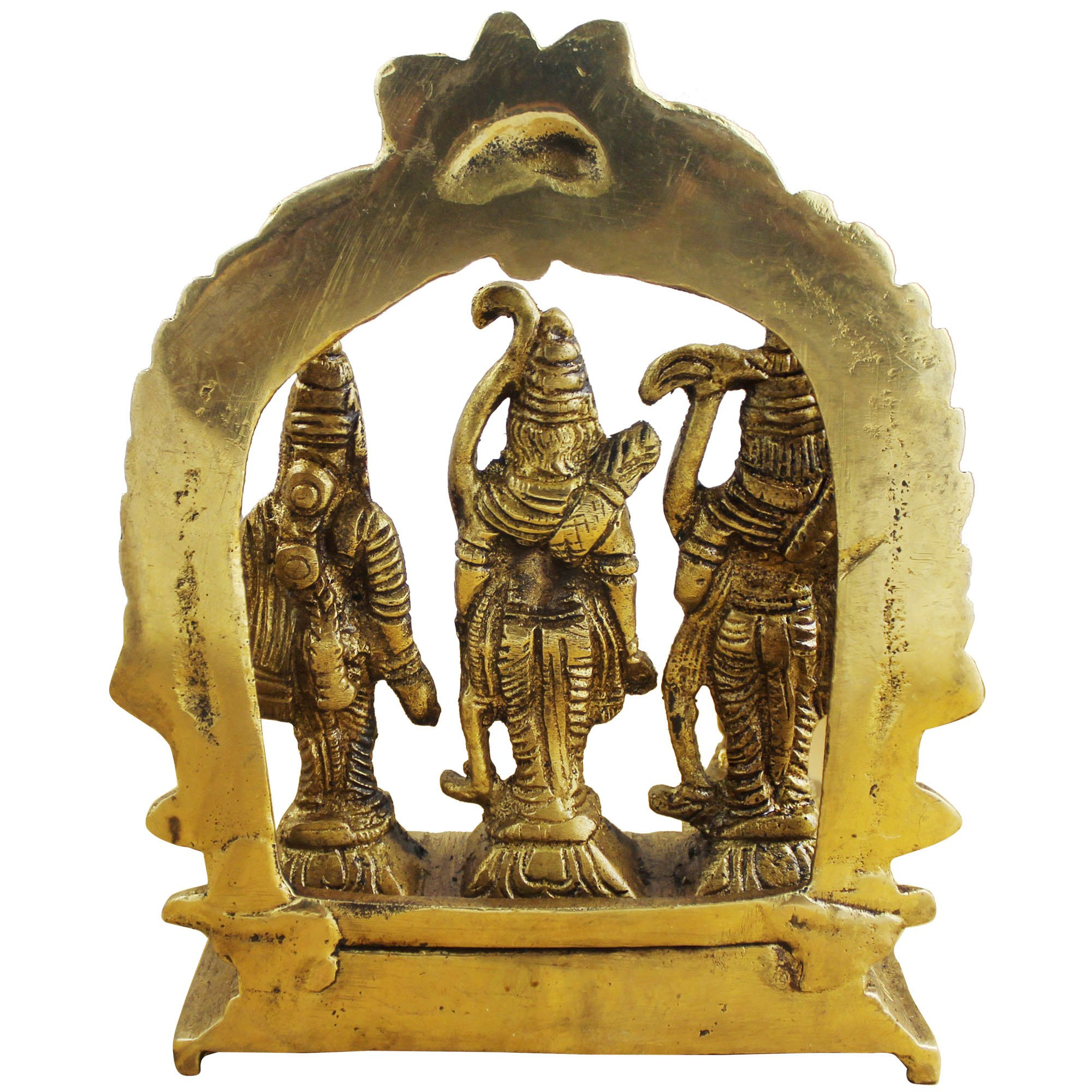 Hindu Gods and Goddesses - Lord Rama Laxman and Sita Religious Indian Art Sculpture - 3.1'' x 3'' x 1'' by RoyaltyLane (Image #4)