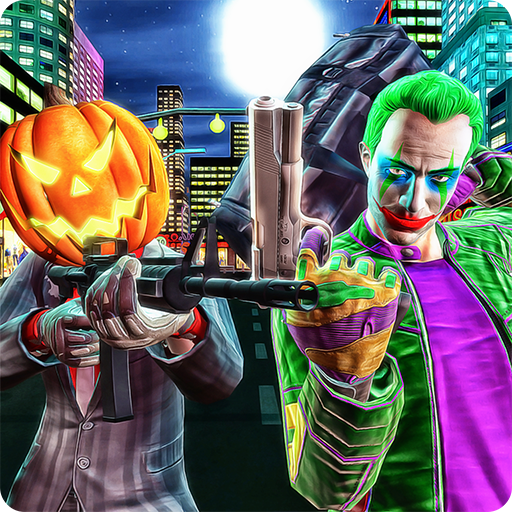 Halloween Gangsters Robbery Grand Theft Heist Fight Simulator 3D: Crime City Criminals Police Vs Robbers Mafia Gangsters Adventure Action Simulator Action Game Free For Kids 2018 for $<!--$0.00-->