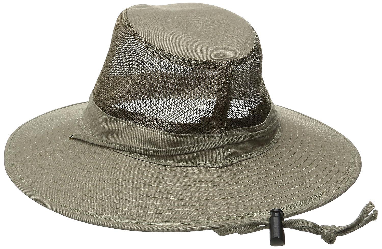 ae338148ee8e0 DPC Outdoor Design Men s Solarweave Mesh Safari Hat