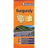 France: Burgundy 519 (Maps/Regional (Michelin)) 1:200K