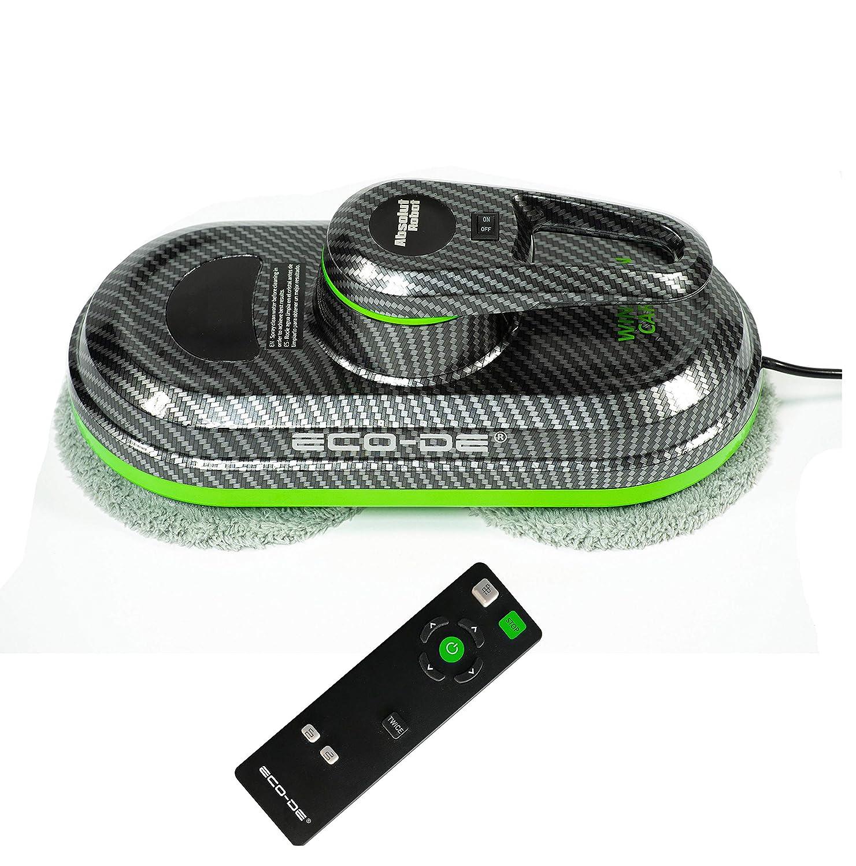 12 chiffons microfibres incluses ECO-996 ECO-DE 3 programmes pour fenetres Absolut Carbon Window Cleaner WINCLEAN Automatique