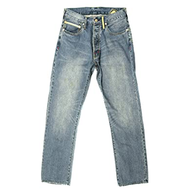 45bd11e2773f Image Unavailable. Image not available for. Color  Yoropiko Jeans Stone wash  Vintage Selvedge ...