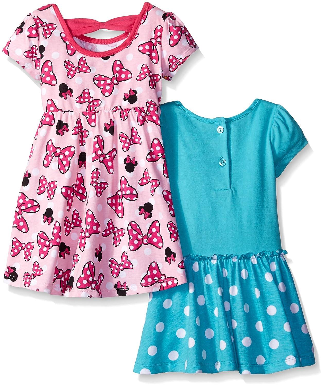 Amazon.com: Disney Baby Girls\' Minnie Mouse Rock The Dots Dresses ...
