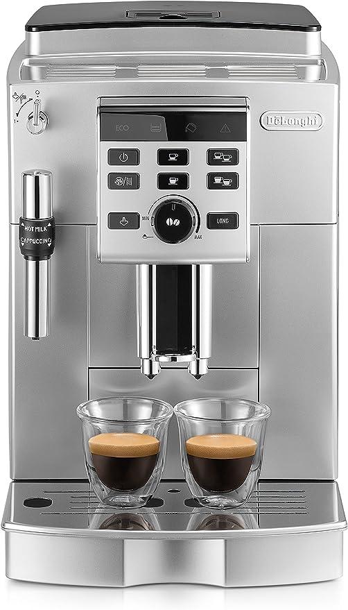 DeLonghi ECAM 25.120.SB - Cafetera (Independiente, Máquina espresso, 1,8 L, 1450 W, Negro, Plata): Amazon.es: Hogar