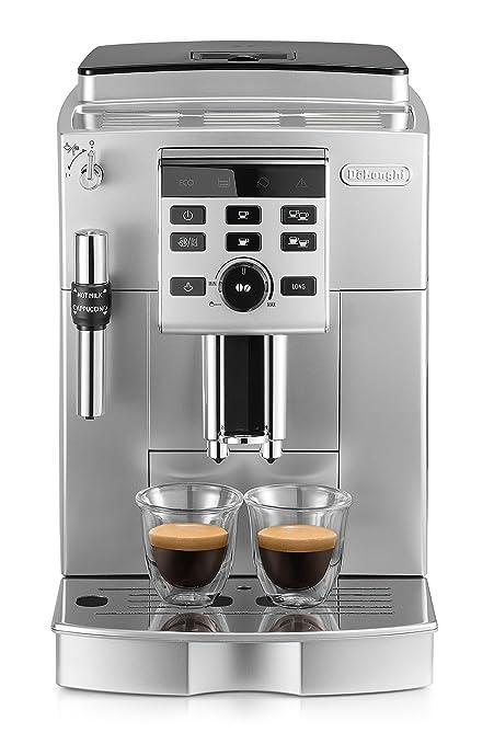 DeLonghi ECAM 25.120.SB - Cafetera (Independiente, Máquina espresso, 1,8 L, 1450 W, Negro, Plata)