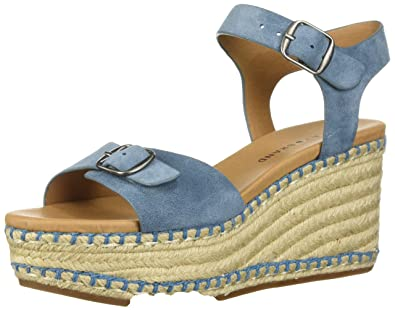 e313bb8f4c6 Lucky Brand Women s NAVEAH3 Espadrille Wedge Sandal