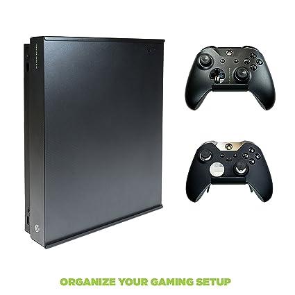 Amazon com: HIDEit X1X + 2 Controller Mounts - Xbox One X Wall Mount