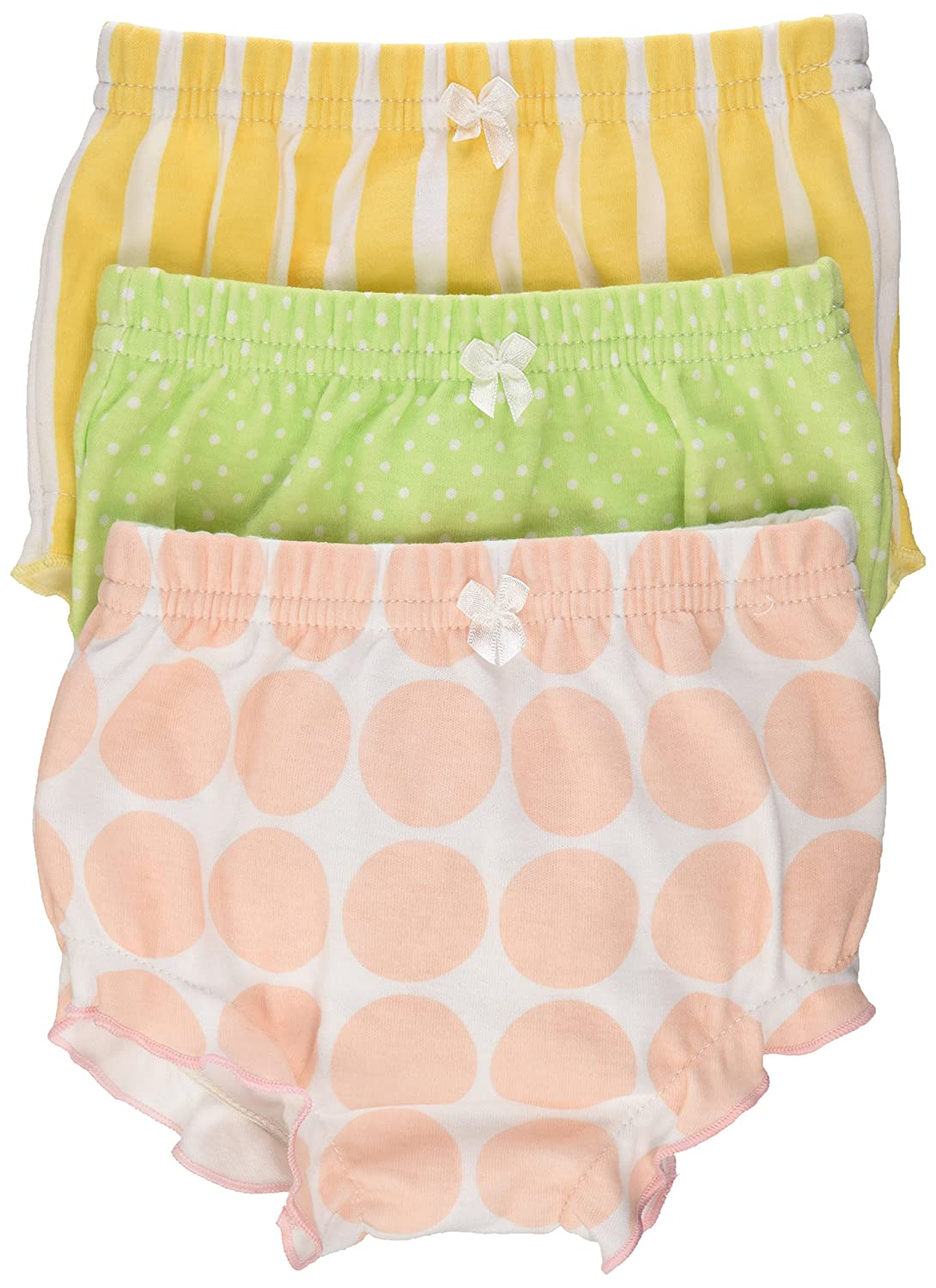 Baby Aspen Baby Bunch OBloomers Three Bloomers for Blooming Bums Multi 0-6 months BA15005NA