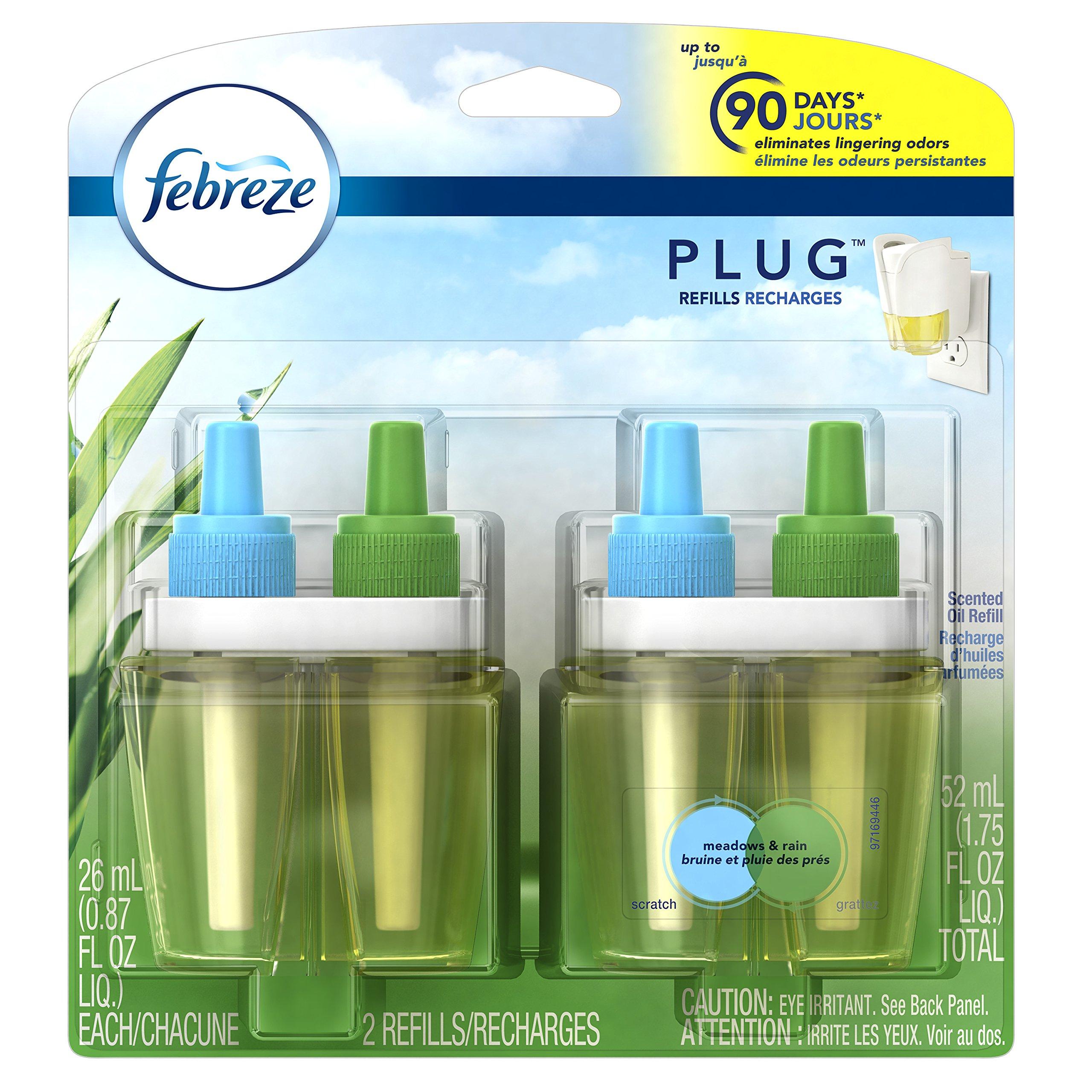Amazon.com: Febreze PLUG Air Freshener Refills Linen & Sky ...