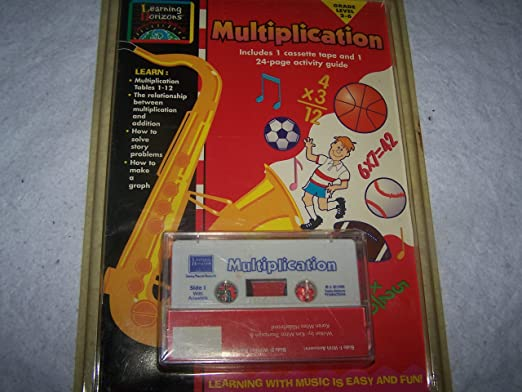 Amazon.com: Learning Horizons 24 Page Multiplication Booklet with ...