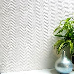 Brewster 437-RD80103 Herringbone Anaglypta Pro Wallpaper