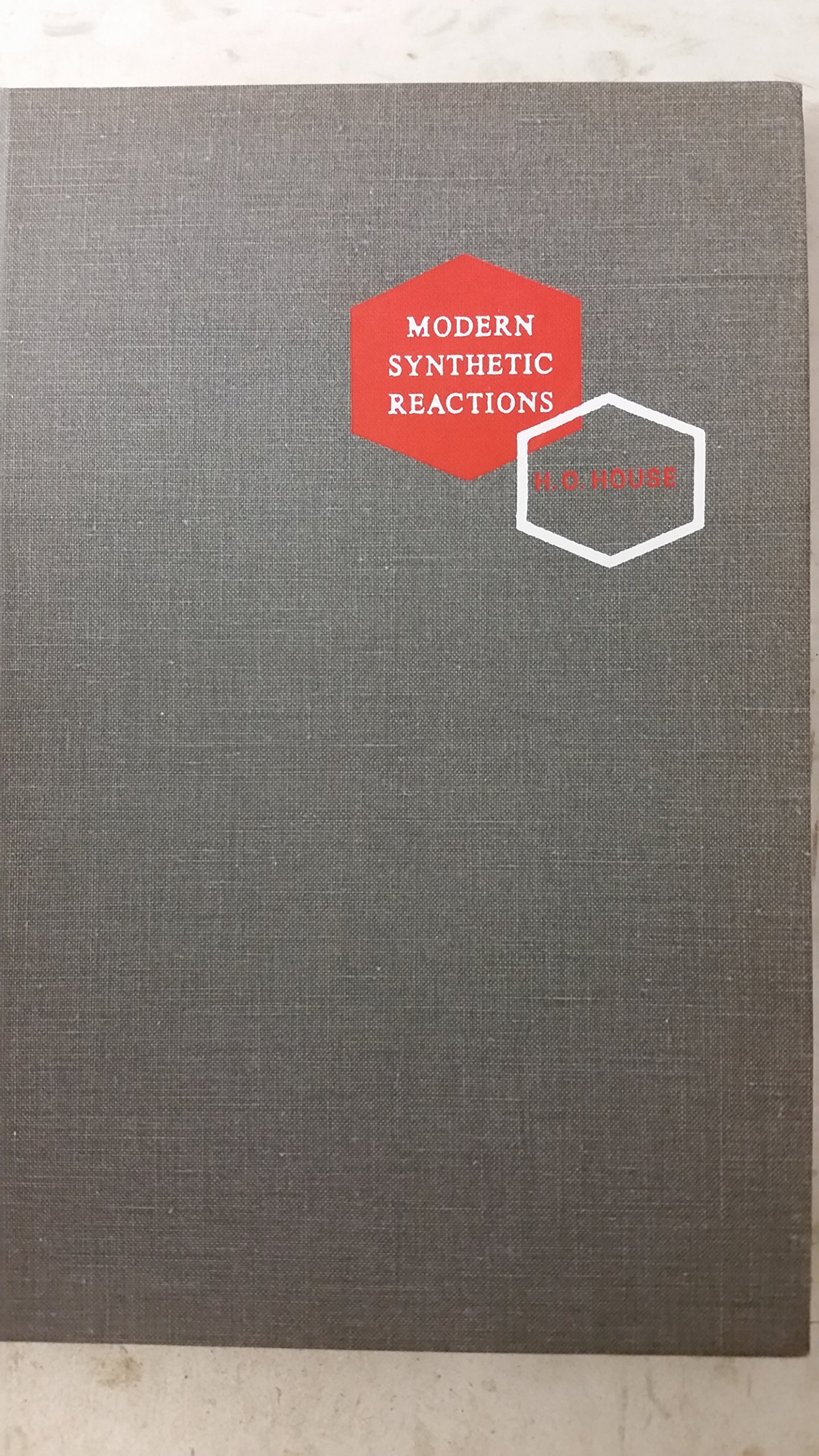 Modern synthetic reactions herbert house amazon com books