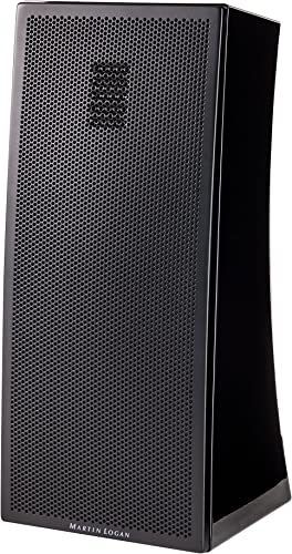 MartinLogan Motion 4i Bookshelf Speaker, Single Speaker Gloss Black