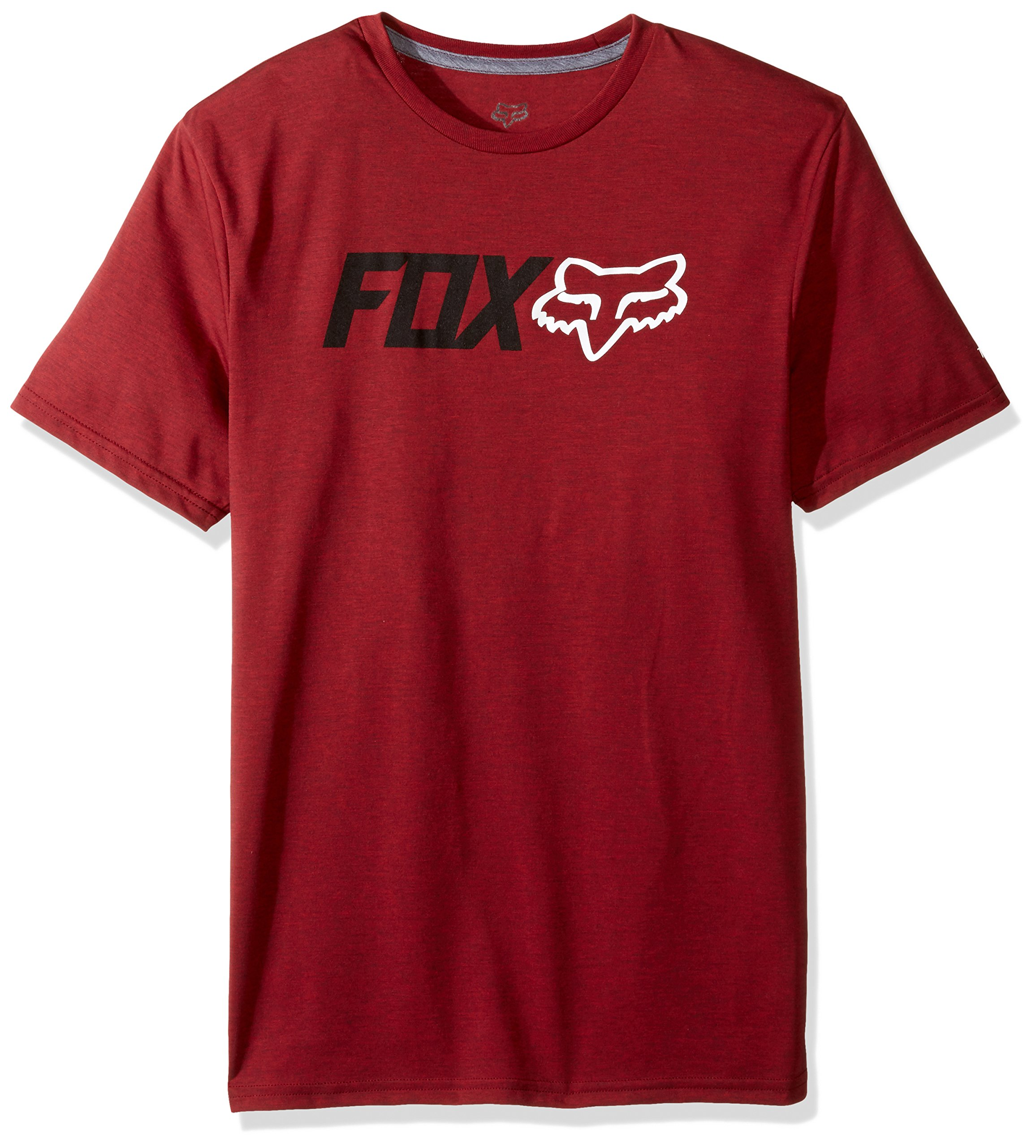 Fox Men's Obsessed Short Sleeve Trudri Tech Tee, Heather Red, Small