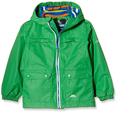 ae43c086a67a Trespass Boys' Max Waterproof Jacket with Hood: Amazon.co.uk: Clothing