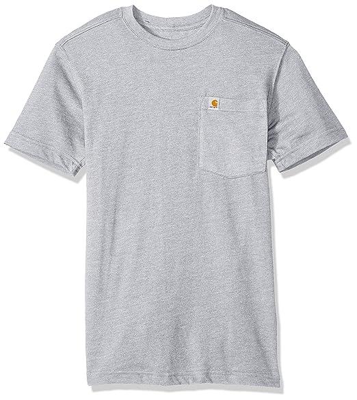 47741543fc Carhartt Men's Maddock Pocket Short Sleeve T-Shirt