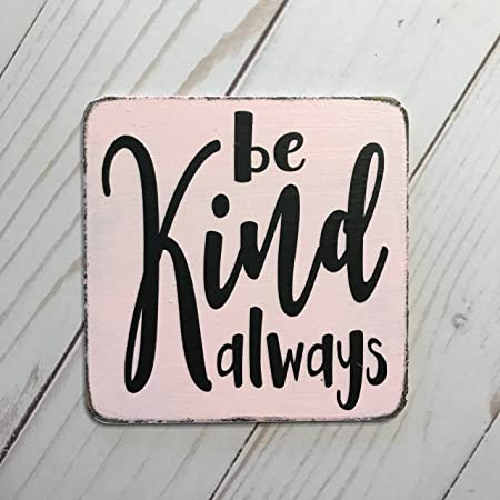 Placa de Madera con Texto en Inglés Be Kind Always Kitchen ...