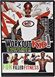 Workout Kid, Inc. Fitness Workout Kids Dvd, Black, 7.5 x 5.3 x 0.5 Inches