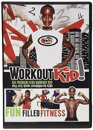 Workout Kid Inc Fitness Kids Dvd Black 75 X 53