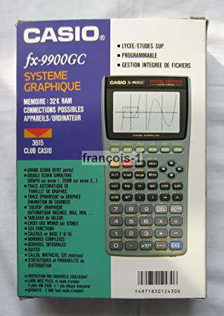 Casio Fx 9900gc Taschenrechner Programmierbar Wissenschaftliche