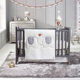 Amazon Com Sleepy Safari 4 Piece Organic Cotton Crib