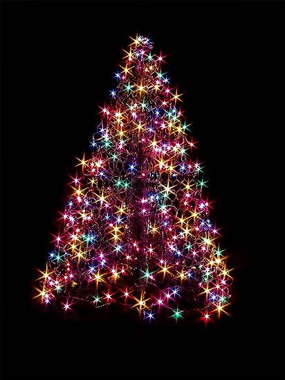 4 artificial christmas tree lowes crab pot trees ft indooroutdoor prelit led artificial christmas tree amazoncom
